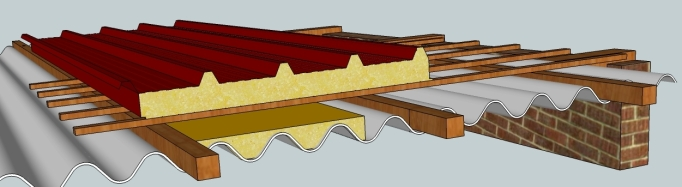 Tejados de fibrocemento en le n for Fibrocemento sin amianto