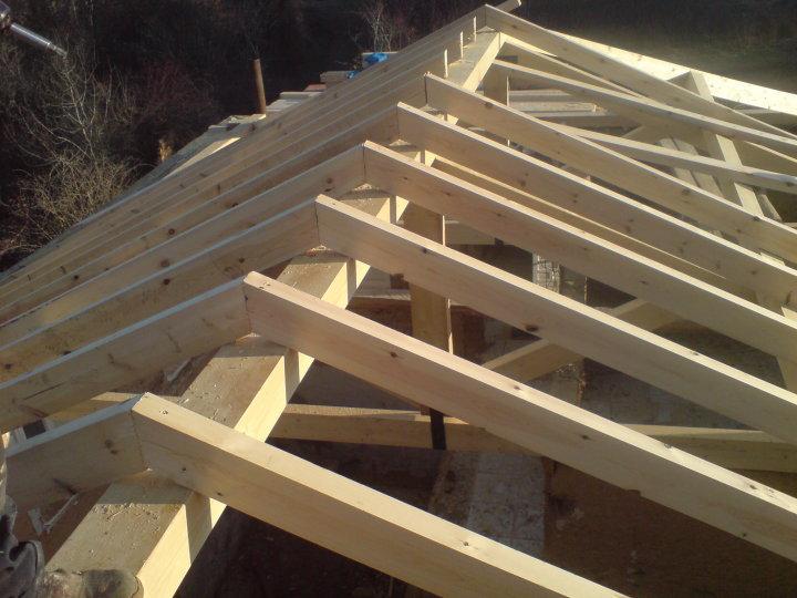 Tejados le n reformas arias - Estructuras de madera para tejados ...